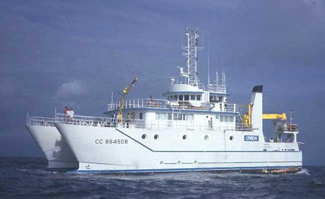 Campagne Antithesis LEG1 navire Atalante
