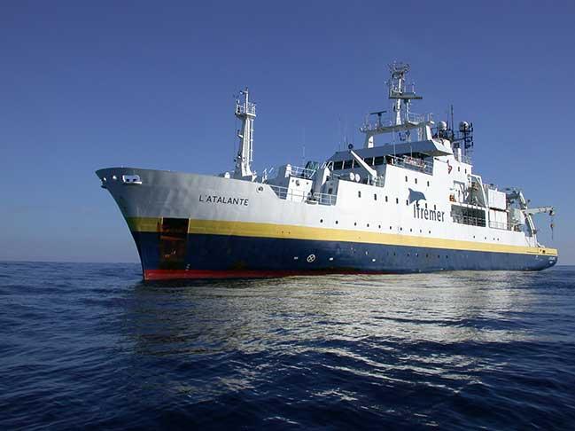 Campagne Antithesis LEG2  navire L'Antea